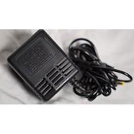 Game Gear AC Adaptor For Sega Genesis Vintage Black MK-2103 - EE685597