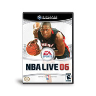 NBA Live 06 For GameCube Basketball With Manual And Case - EE685789