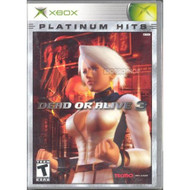 Dead Or Alive 3 Platinum Hits For Xbox Original Fighting With Manual - EE685889