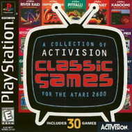 Classic Games For The Atari 2600 For PlayStation 1 Arcade With Manual - EE685937