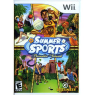 Summer Sports Paradise Island For Wii With Manual and Case - EE686000