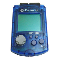 Visual Memory Unit Blue For Sega Dreamcast Card Expansion - EE686719