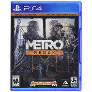 Square Enix Metro Redux PS4 For PlayStation 4 Shooter - EE686912
