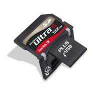 SanDisk Ultra II SD Plus With USB 512MB SDSDPH-512-901 - EE687170