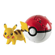 Throw 'N' Pop Pikachu And Poke Ball Toy Action - EE687250