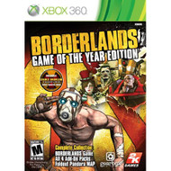 Borderlands Game Of The Year Xbox 360 For Xbox 360 - EE687266