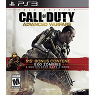 Call Of Duty: Advanced Warfare Gold Edition For PlayStation 3 PS3 COD - EE687317