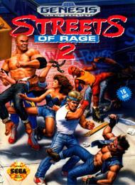 Streets Of Rage 2 For Sega Genesis Vintage - EE687369