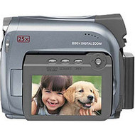 Canon ZR500 MiniDV Camcorder With 25X Optical Zoom Camera Silver - EE687464