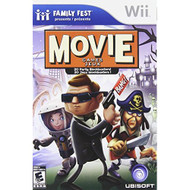 Family Fun Fest Movie Game For Wii With Manual and Case - EE687568