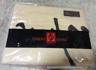 Orient Sense 3PCS Fan Full/Queen Duvet Cover Set Embroidered Oriental - EE528863
