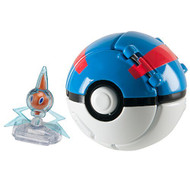 Pokemon Throw 'N' Pop Poke Ball Rotom And Great Ball Toy - EE687687