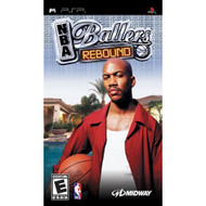 NBA Ballers Rebound Sony For PSP UMD Basketball With Manual and Case - EE687741