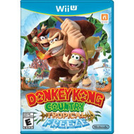 Donkey Kong Country Tropical Freeze For Wii U With Manual And Case - EE687761