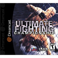 UFC UltimateChampionship For Sega Dreamcast Wrestling - EE687990