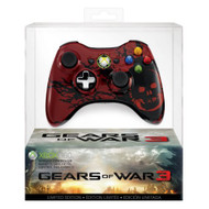 Gears Of War 3 Controller Special For Xbox 360 Remote Gamepad Multi - EE688136