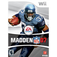 Madden NFL 07 For Wii Football With Manual And Case - EE688153