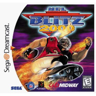 NFL Blitz 2000 For Sega Dreamcast Football With Manual and Case - EE688242