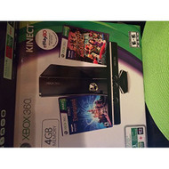 Xbox 360 4GB W/ Kinect And 5 Games - ZZ688266