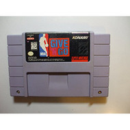 NBA Give 'N Go Nintendo Super NES For Nintendo NES Vintage Basketball - EE688308