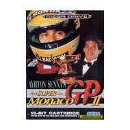 Ayrton Senna's Super Monaco Gp II For Sega Genesis Vintage Racing - EE688366