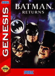 Batman Returns For Sega Genesis Vintage - EE688370