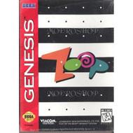 Zoop-Sega Genesis-Video Game For Sega Genesis Vintage - EE688374