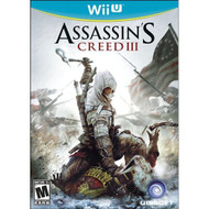 Assassin's Creed III For Wii U With Manual and Case - EE688484