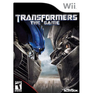 Transformers The Game For Wii With Manual and Case - EE688537