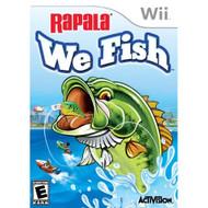 Rapala: We Fish For Wii With Manual and Case - EE688539