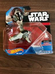 Hot Wheels Star Wars Starship Boba Fett Slave I Vehicle Toy - EE688557