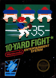 10-YARD Fight For Nintendo NES Vintage - EE688628