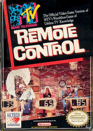 Nintendo NES MTV Remote Control Game Cartridge For Nintendo NES - EE688650