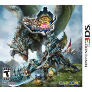 Monster Hunter 3 Ultimate Nintendo For 3DS With Manual and Case - EE688701
