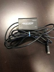Sega RF Switch By Performance Vintage For Sega Genesis Black LKE164 - EE688771