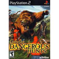 Cabela's Dangerous Hunts For PlayStation 2 PS2 - EE688901