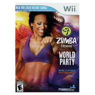 Zumba Fitness World Party For Wii With Manual and Case - EE689020