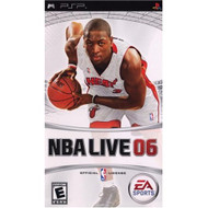 NBA Live 06 Sony For PSP UMD Basketball With Manual and Case - EE689051