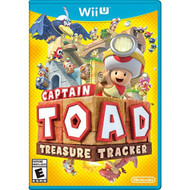Captain Toad: Treasure Tracker For Wii U With Manual and Case - EE689059