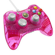 PDP Rock Candy Wired Controller For Xbox 360 Pink Palooza 037-010-NA - EE689181