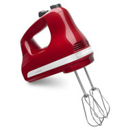 Kitchenaid KHM512ER 5-SPEED Ultra Power Hand Mixer Empire Red - EE689199