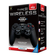 Wireless Controller With Rumble For PlayStation 3 PS3 Black DGPS3-1349 - EE689230