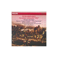 1812 Overture / Romeo And Juliet By Tchaikovsky Davis Bso On Audio CD - EE689291
