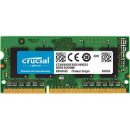 Crucial 2GB Single DDR3L 1600 Mt/s PC3-12800 SODIMM 204-PIN Memory CT2 - EE689329