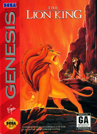 The Lion King For Sega Genesis Vintage - EE689421