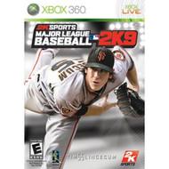MLB 2K9 XBOX360 For Xbox 360 Baseball - EE689480