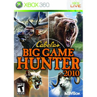 Cabela's Big Game Hunter Game Only For Xbox 360 Shooter - EE689509