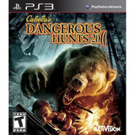 Cabela's Dangerous Hunts 2011 For PlayStation 3 PS3 Shooter - EE689599