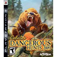 Cabela's Dangerous Hunts '09 For PlayStation 3 PS3 Shooter - EE689609