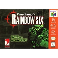 Tom Clancy's Rainbow Six For N64 Nintendo 6 - EE689675